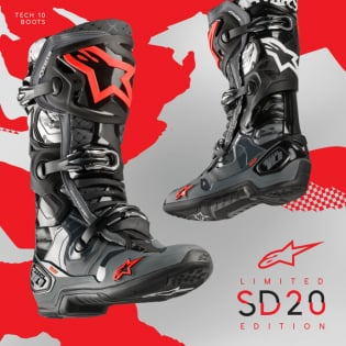 Alpinestars Tech 10 Limited Edition San Diego Boots Image 2