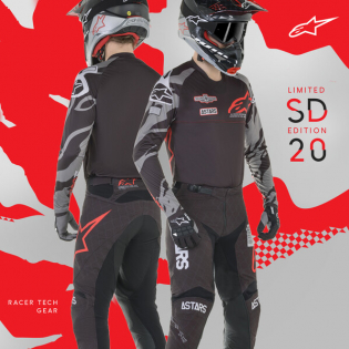 Alpinestars Kids Racer Ltd Edition San Diego Pants Image 2