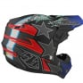 Troy Lee Designs SE4 Composite Helmet - LE Liberty Matte Black