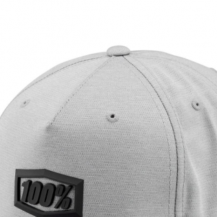 100% Enterprise Charcoal Snapback Hat Image 2