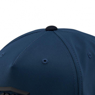 100% Enterprise Blue Snapback Hat Image 4