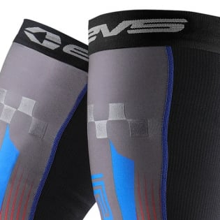 EVS Fusion Blue Red Knee Brace Sleeve & Sock Image 2