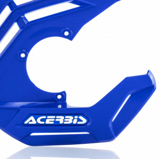 Acerbis X-Future Blue Front Disc Protector - Incl Mount Image 4