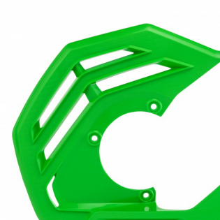Acerbis X-Future Green Front Disc Protector - Incl Mount Image 2