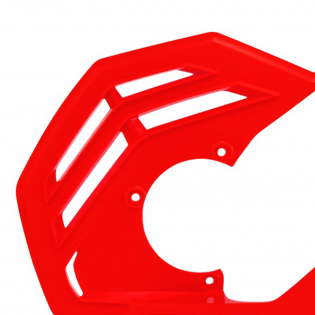 Acerbis X-Future Red Front Disc Protector - Incl Mount Image 2