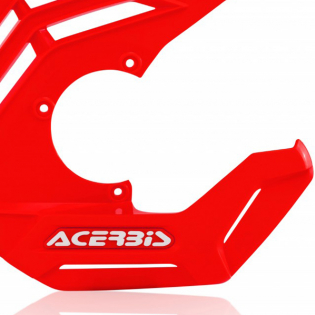 Acerbis X-Future Red Front Disc Protector - Incl Mount Image 4