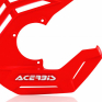 Acerbis X-Future Red Front Disc Protector - Incl Mount