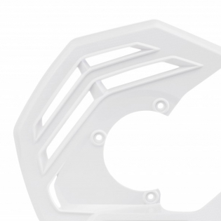 Acerbis X-Future White Front Disc Protector - Incl Mount Image 2