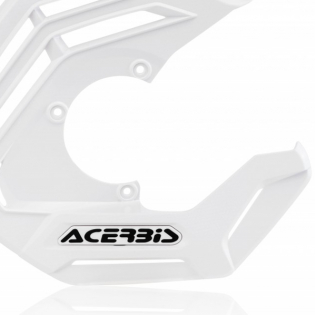 Acerbis X-Future White Front Disc Protector - Incl Mount Image 4