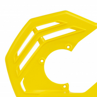 Acerbis X-Future Yellow Front Disc Protector - Incl Mount Image 2