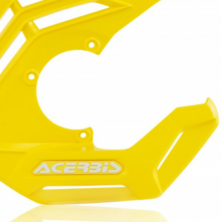 Acerbis X-Future Yellow Front Disc Protector - Incl Mount Image 4