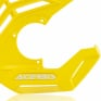 Acerbis X-Future Yellow Front Disc Protector - Incl Mount