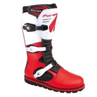 Forma Boulder Trials Boots - Red White Image 2