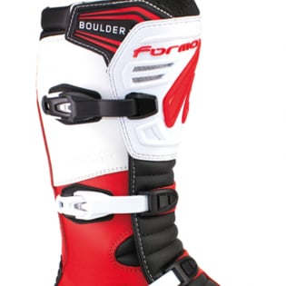 Forma Boulder Trials Boots - Red White Image 3
