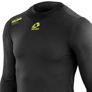 EVS TUG Winter Baselayer Black Long Sleeve Top Image 2