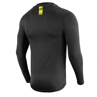 EVS TUG Winter Baselayer Black Long Sleeve Top Image 3
