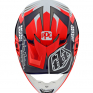 Troy Lee Designs SE4 Carbon Helmet - Flash Blue Red