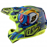 Troy Lee Designs SE4 Composite - Eyeball Navy Yellow