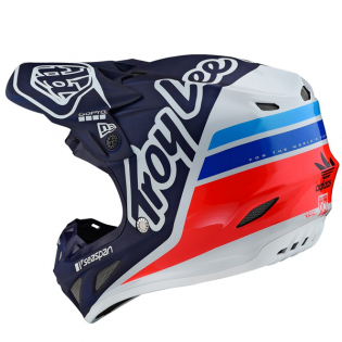 Troy Lee Designs SE4 Composite - Silhouette Team Navy Image 3