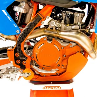 Acerbis X-Power Honda Red Engine Cover Kit Image 2