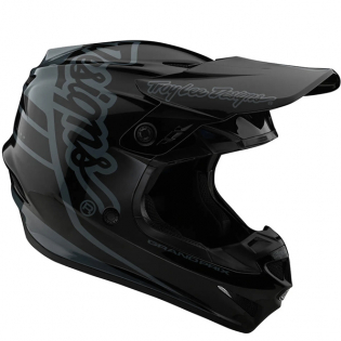 Troy Lee Designs SE4 Composite - Silhouette Black Camo Image 3