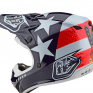 Troy Lee Designs SE4 Polyacrylite Helmet - Freedom Red White