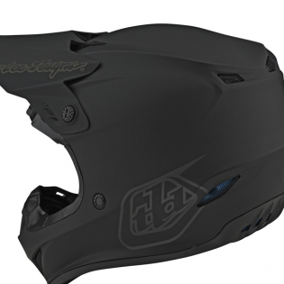 Troy Lee Designs Kids GP Mono Black Helmet Image 3