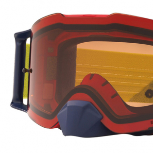 Oakley Front Line Heritage B1B Red Yellow Prizm Bronze MX Goggles Image 2