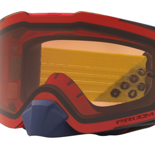 Oakley Front Line Heritage B1B Red Yellow Prizm Bronze MX Goggles Image 3