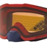 Oakley Front Line Heritage B1B Red Yellow Prizm Bronze MX Goggles