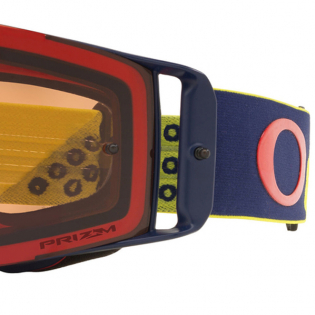 Oakley Front Line Heritage B1B Red Yellow Prizm Bronze MX Goggles Image 4