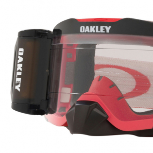 Oakley Front Line Roll Off Tuff Blocks Red Grey Prizm Low Light Goggles Image 2