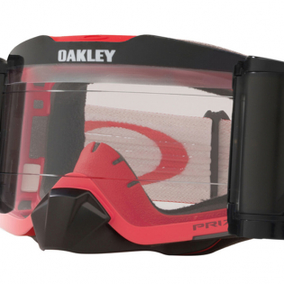 Oakley Front Line Roll Off Tuff Blocks Red Grey Prizm Low Light Goggles Image 3