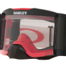 Oakley Front Line Roll Off Tuff Blocks Red Grey Prizm Low Light Goggles