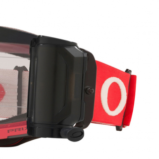 Oakley Front Line Roll Off Tuff Blocks Red Grey Prizm Low Light Goggles Image 4