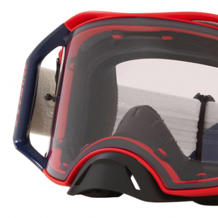 Oakley Airbrake Heritage B1B Red Navy Prizm Low Light MX Goggles Image 2
