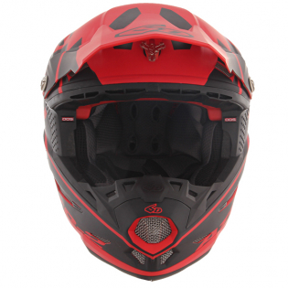 6D ATR-2 Core Red Black Helmet Image 4
