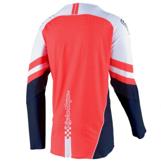 Troy Lee Designs SE Ultra Factory White Navy Jersey Image 3