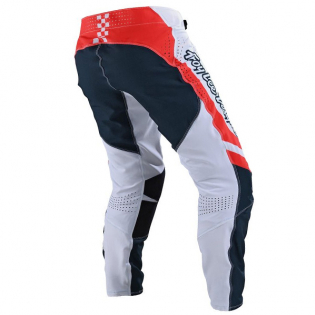 Troy Lee Designs SE Ultra Factory White Navy Pants Image 3