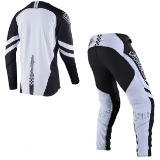 Troy Lee Designs SE Ultra Factory Black White Jersey Image 4