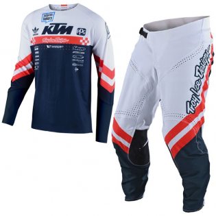Troy Lee Designs SE Ultra Factory Team White Jersey Image 2