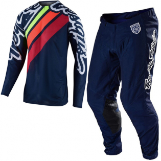 Troy Lee Designs SE Pro Air Seca 2 Navy Jersey Image 2