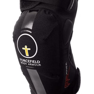 Forcefield AR CE2 Knee Protectors - Black Image 2