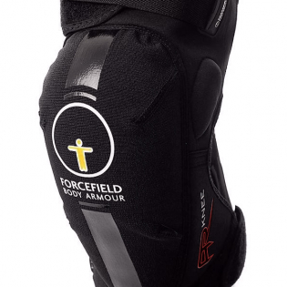 Forcefield AR CE1 Knee Protectors - Black Image 2
