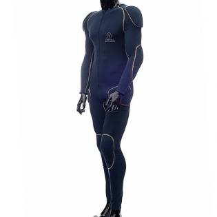 Forcefield Sport Suit CE2 Full Body Armour - Blue Yellow Image 3