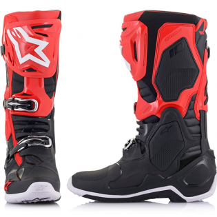 Alpinestars Tech 10 Red Black Boots Image 4