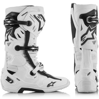 Alpinestars Tech 10 Supervented White Boots Image 2