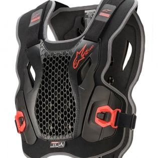 Alpinestars Bionic Action Black Red Chest Protector Image 2