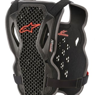 Alpinestars Bionic Action Black Red Chest Protector Image 4