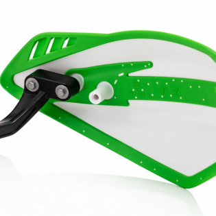 Cycra Cyclone Handguards - White Green Image 4